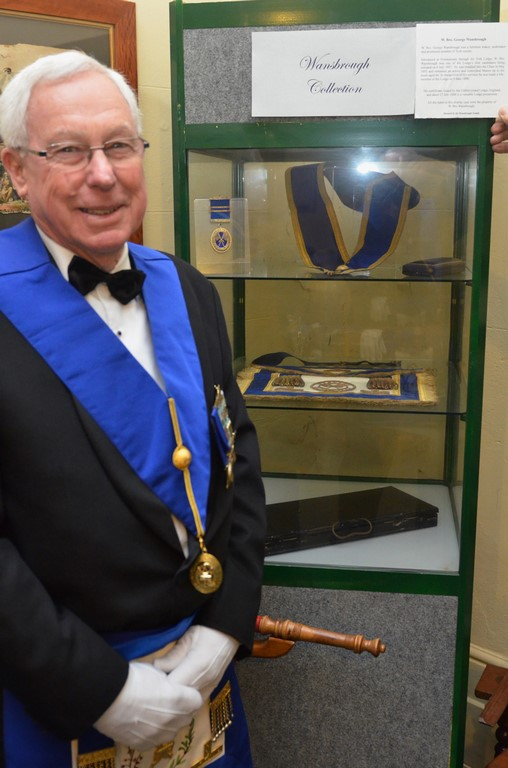 VM Bro Lauder Coomber discovers his Great Great Granfathers regalia